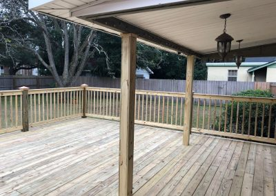 deck with cover in florida